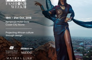 Glitz Africa Fashion Week returns to Accra, October 18