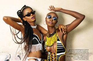 Swimwear Shoot With Grace Quaye & Celestine