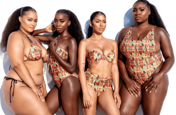 Ashanti Swimwear, Releases It's New Collection Title 'Kente Queen'