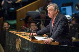 Antonio Guterres - United Nations Secretary-General