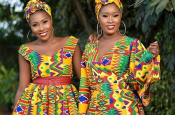Fabulous Kente Print Editorial By New Ghanaian Fashion Brand Miraapi Couture