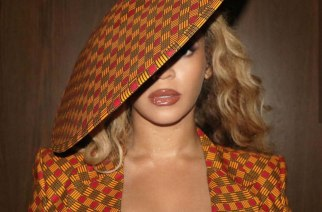 Beyonce Shows Her Africaness In This Chic African Print Dress