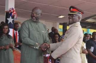 Ghanaian Military Officer Honoured In Liberia