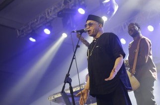 Salif Keita set the stage alight with his performance