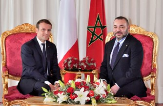 Morocco's King Mohammed VI (right) and French President Emmanuel Macron. Pic credit: Morocco World News