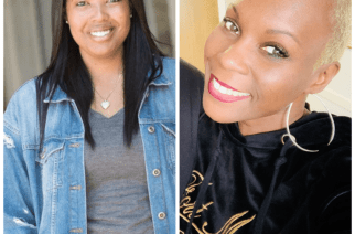 Attorneys Brittany K. Barnett and MiAngel Cody both left six figure jobs to work on criminal justice reform. Kim donated money to help with their efforts
