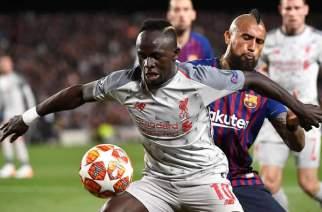 Barcelona Fan Starts Petition To Get sadio Mane Banned 'For Slapping Arturo Vidal'