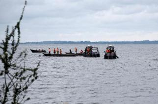 Boat Packed With Footballers Capsizes In Lake Albert
