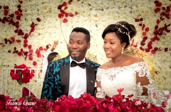 Adjetey Anang And Wife Renews Wedding Vows In Stunning Photos