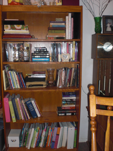 Remember that bookcase I mentioned?
