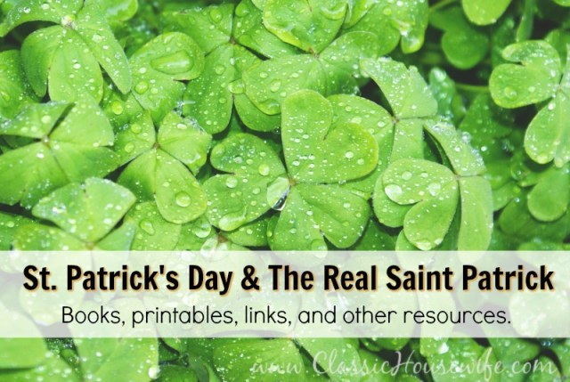 St Patrick's Day Resources