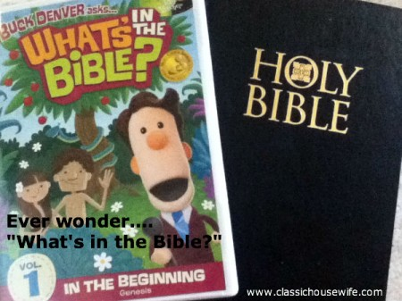 What's in the Bible, Volume 1, DVD, Review