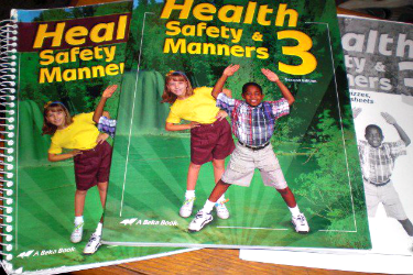 A Beka Health Safety Manners 3 set