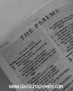 Teaching Bible in Our Homeschool