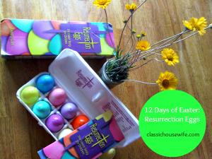12 Days of Easter Resurrection Eggs
