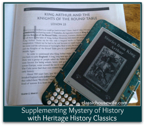 mystery of history heritage classics