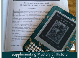 mystery of history heritage classics