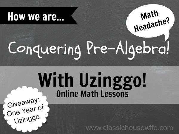 Conquering PreAlgebra with Uzinggo Online Math