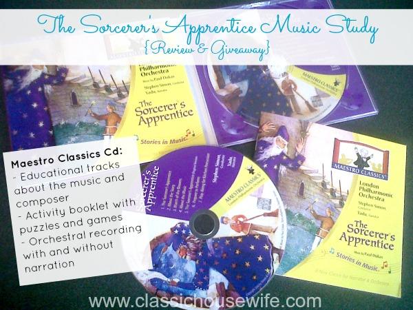Maestro Classics Sorcerer's Apprentice Music Study CD