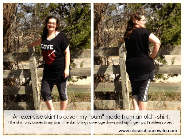 Exercise Skirt Problem Solved