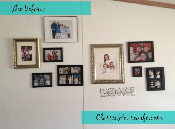 Picture Wall Before