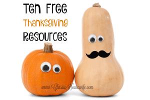 free thanksgiving resources