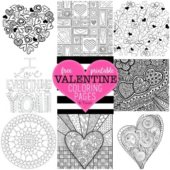 Free Coloring Pages by U Create