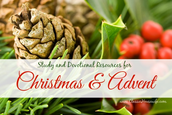 Study Devotional Resources Christmas Advent