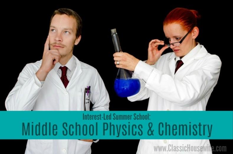 Middle School Physics Chemistry