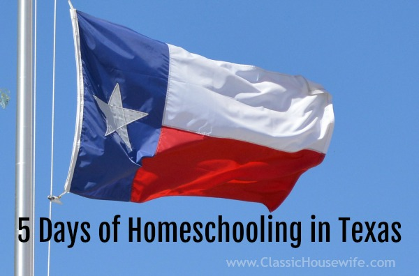 Homeschooling - Teaching Texas History