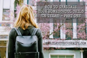 How to Graduate Your Homeschool Child