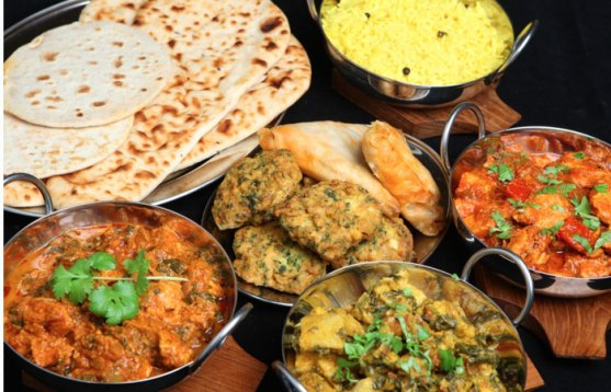 Image result for While visiting a restaurant for Indian food