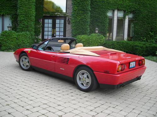 1989 ferrari mondial t cabriolet classic italian cars for sale. Cars Review. Best American Auto & Cars Review