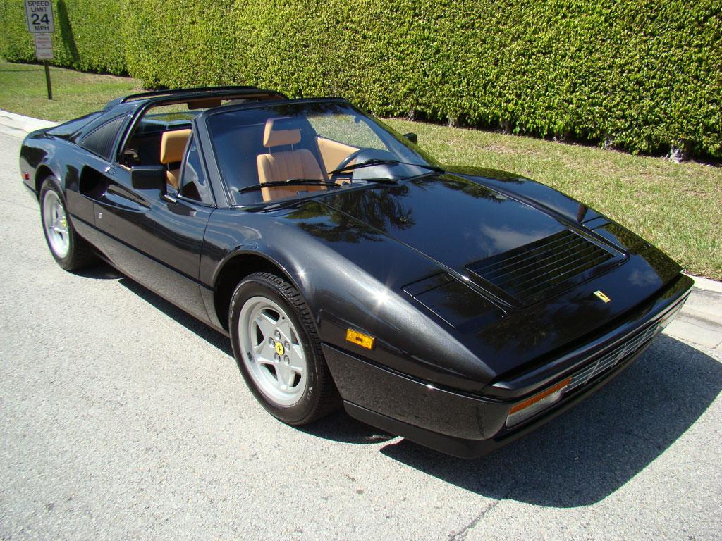 Ferrari 308 Gts For Sale >> Black on Tan: 1987 Ferrari 328 GTS For Sale | Classic Italian Cars For Sale