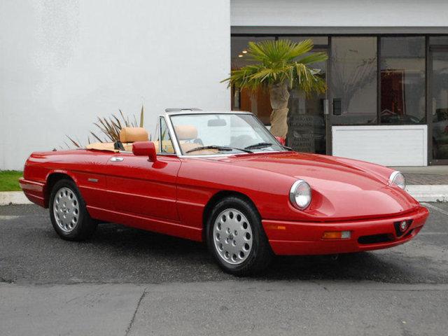 Alfa Romeo Spider Veloce Classic Italian Cars For Sale - 1994 alfa romeo spider