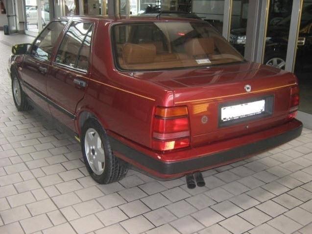 1987 Lancia Thema 8 32 Classic Italian Cars For Sale