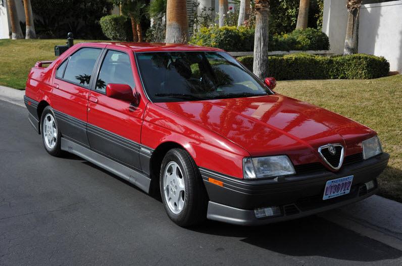 january 2012 classic italian cars for sale rh classicitaliancarsforsale com 1992 Alfa Romeo Clover 1992 Alfa Romeo 164 Cloverleaf
