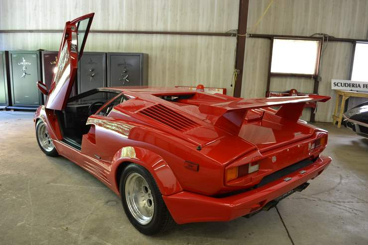 1989 lamborghini countach 25th anniversary classic italian cars for sale. Black Bedroom Furniture Sets. Home Design Ideas