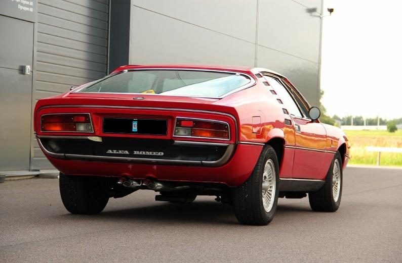 1972 alfa romeo montreal classic italian cars for sale for Garage alfa romeo luxembourg