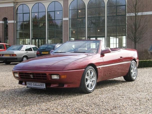 Maserati Biturbo For Sale >> 1992 Maserati OPAC Spyder Prototype | Classic Italian Cars For Sale