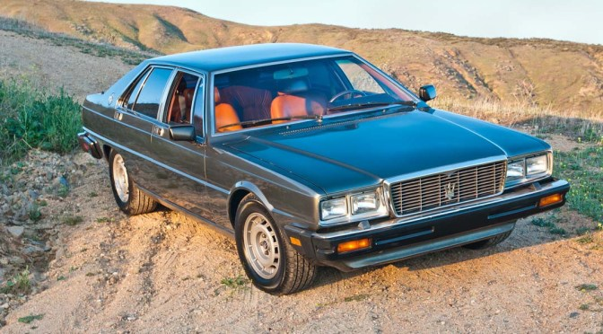 1985 Maserati Quattroporte – REVISIT