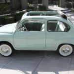 1960 Fiat 600 Convertible