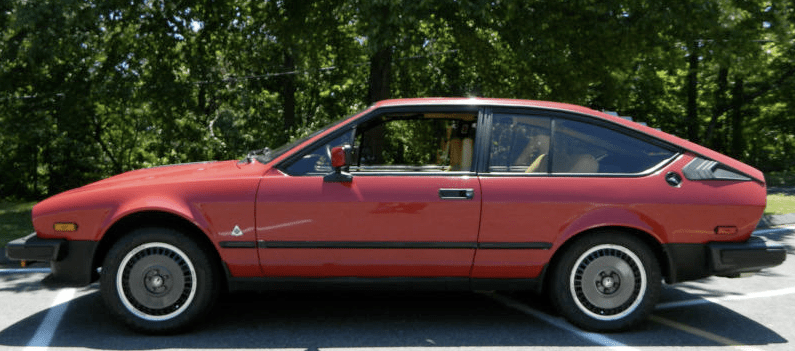 1984 alfa romeo gtv6 2 5 classic italian cars for sale. Black Bedroom Furniture Sets. Home Design Ideas