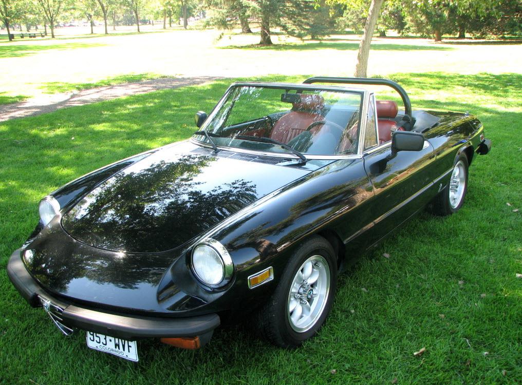 1978 alfa romeo spider classic italian cars for sale. Black Bedroom Furniture Sets. Home Design Ideas