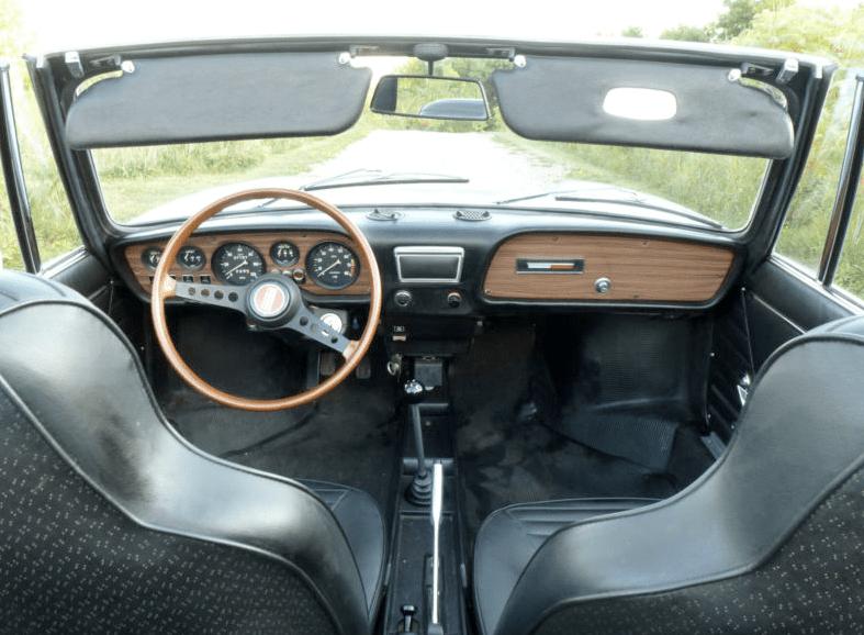 1971 Fiat 850 Spider Classic Italian Cars For Sale