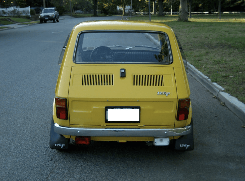 1976 fiat 126p classic italian cars for sale. Black Bedroom Furniture Sets. Home Design Ideas