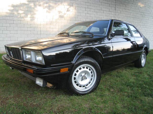 1985 maserati biturbo classic italian cars for sale. Black Bedroom Furniture Sets. Home Design Ideas