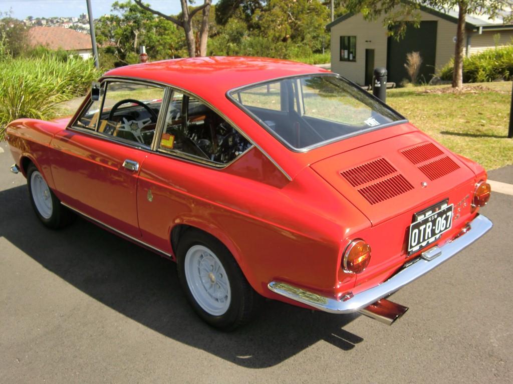 1967 Fiat Abarth 1000 Otr Classic Italian Cars For Sale