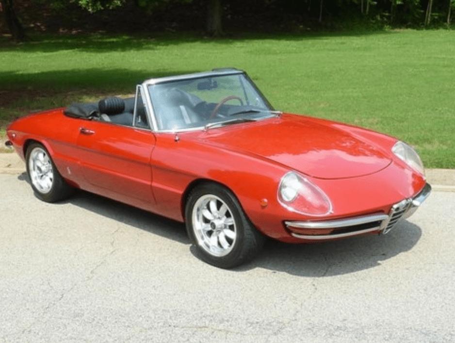 1969 alfa romeo spider veloce classic italian cars for sale. Black Bedroom Furniture Sets. Home Design Ideas