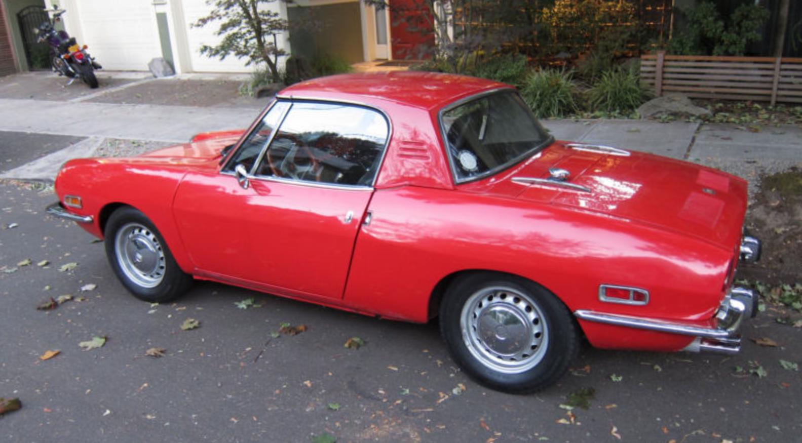 1970 Fiat 850 Spider Classic Italian Cars For Sale